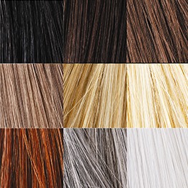 hair fibre colours
