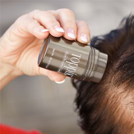 how to apply hair fibres